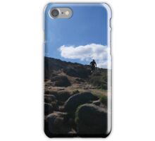 Running to the Tops, Ilkley iPhone Case/Skin