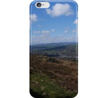 Green and Blue, Ilkley Moor iPhone Case/Skin
