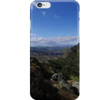 Moors to the Left of Me, Trees to the Right (Ilkley) iPhone Case/Skin