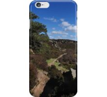 A Path Through the Moor Valley, Ilkley iPhone Case/Skin