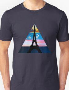 Eiffel Sky Unisex T-Shirt