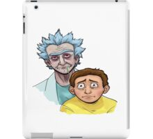 Rick and Morty zombie iPad Case/Skin