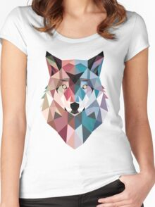 GeoWolf Women's Fitted Scoop T-Shirt