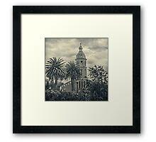 San Luis Church Otavalo Ecuador Framed Print