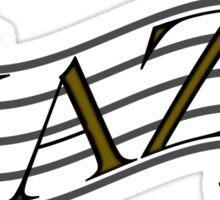 Jazz iPhone / Samsung Galaxy Case Sticker