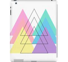 Pantone Pastel Triangles iPad Case/Skin