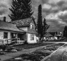 Old house in Spokane Sticker