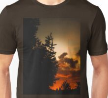 Sunset in Washington state Unisex T-Shirt