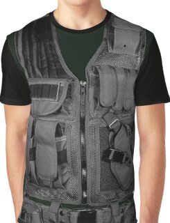 Army Vest Graphic T-Shirt