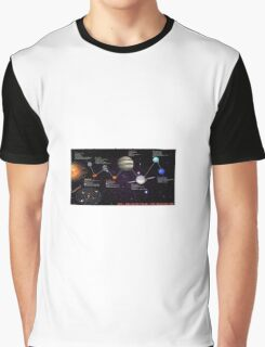 space infographic Graphic T-Shirt