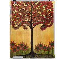 Happy Tree In Red iPad Case/Skin