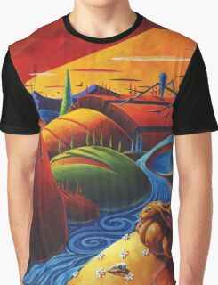 Evening Disquiet Graphic T-Shirt