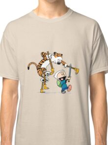 hobbes and calvin time advanture Classic T-Shirt