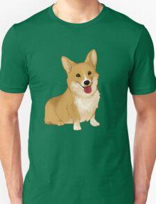 Cute smiling corgi Unisex T-Shirt