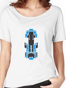 board technology line connection microchip datentechnik electronics cool design robot cyborg pattern Women's Relaxed Fit T-Shirt