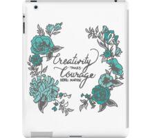 Creativity - Hand Lettering iPad Case/Skin