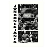 Jon Bones Jones Art Print
