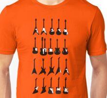 Music - Guitar Models Unisex T-Shirt
