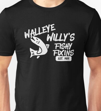 Walleye Willy's  Unisex T-Shirt