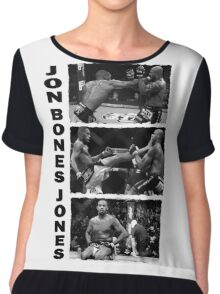 Jon Bones Jones Chiffon Top
