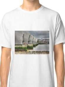 Thames Barrier HDR Classic T-Shirt