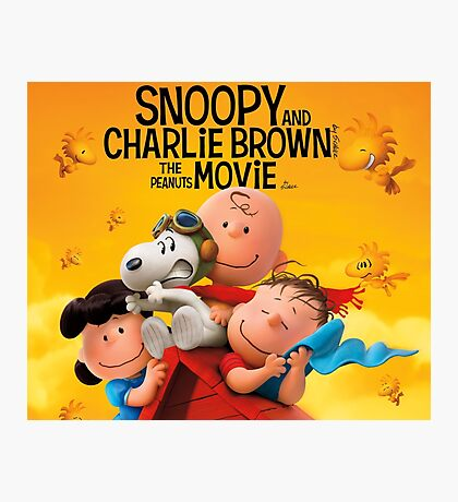 snoopy movie charlie brown Photographic Print