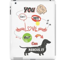 Love & Rescue... iPad Case/Skin