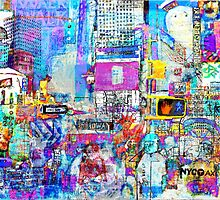 Times Square V by Andy Mercer