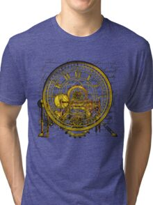 Vintage Time Machine #1B Tri-blend T-Shirt