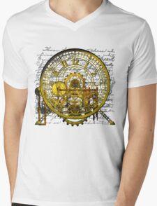 Vintage Time Machine #1B Mens V-Neck T-Shirt
