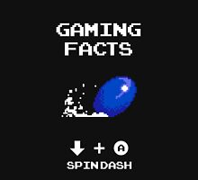 Gaming Facts Spin Dash Unisex T-Shirt