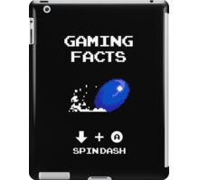 Gaming Facts Spin Dash iPad Case/Skin