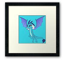 ANGRY PRINCESS EMBER  Framed Print