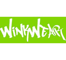 WinkWearLogo Photographic Print