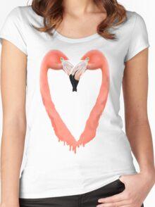 Bleeding Love Women's Fitted Scoop T-Shirt
