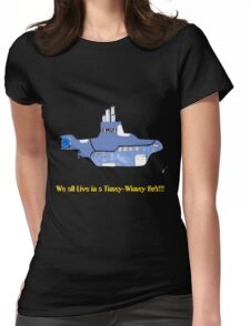 timey wimey sub (update) Womens Fitted T-Shirt