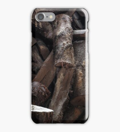 19.4.2016: Pill Bottle and Firewood iPhone Case/Skin