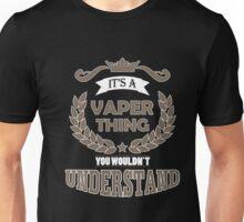 Vape Design Vaper Thing Brown Unisex T-Shirt