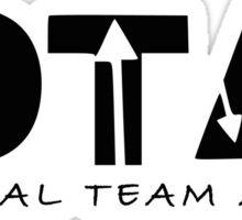 Original Team Arrow - Oliver, Felicity, Diggle Sticker