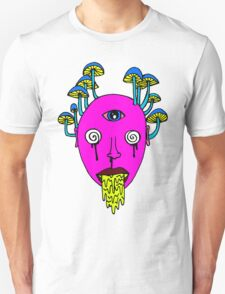 Third Eye Mushrooms Unisex T-Shirt