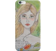 By water, wood and willow iPhone Case/Skin