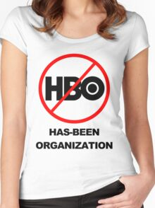 Game of Thrones - GONE! Thanks HBO... Women's Fitted Scoop T-Shirt