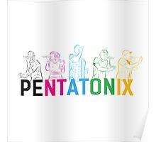 Pentatonix Silhouettes Poster