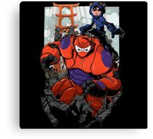 Baymax Big Hero Canvas Print