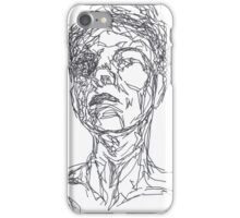 black and white art iPhone Case/Skin