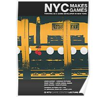 NYC Makes Games: Thriving as a Game Developer in New York Poster