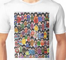 Kokeshi Karnival Unisex T-Shirt