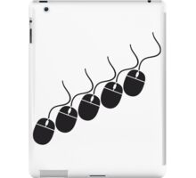 pattern design cool mouse computer cable control click pc computer online computer mouse iPad Case/Skin