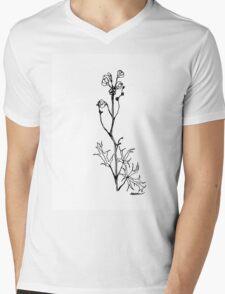 Monkshood Mens V-Neck T-Shirt
