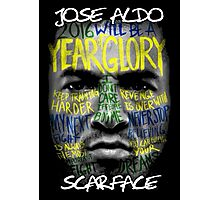 Jose Aldo - Scarface Photographic Print